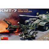 Колейный минный трал КМТ-7 среднего типа выпуска 1:35