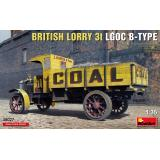 Британский грузовик 3T LGOC B-TYPE