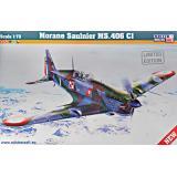Истребитель Morane Saulnier MS.406C1 1:72