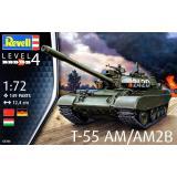 Танк T-55AM / T-55AM2B 1:72