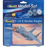 Подарочный набор с самолетом F-15E Eagle 1:144