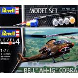 Подарочный набор с моделью вертолета AH-1G Cobra 1:100