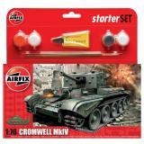 Подарочный набор с танком Cromwell MkIV 1:76