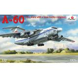 A-60 Летающая лаборатория для испытания лазерного оружия. 1:72