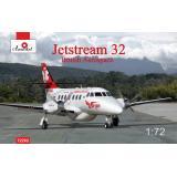 Пассажирский самолет Jetstream 32 British airliner 1:72