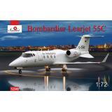 Пассажирский самолет Bombardier Learjet 55C 1:72
