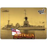 Линейный крейсер HMAS Australia Battlecruiser (Корпус по ватерлинию) 1:350