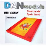 Подставка для моделей. Тема: Испания (240х180мм)