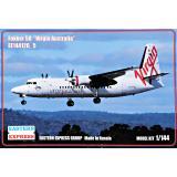Пассажирський самолет Fokker 50 Virgin Australia 1:144