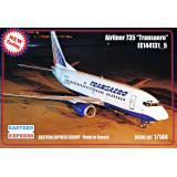 Пассажирський самолет Airliner 735 Transaero 1:144