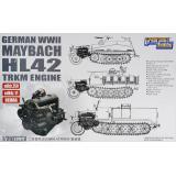 Двигатель Maybach HL42 TRKM для Sd.Kfz.250, Sd.Kfz.11,Demag 1:35