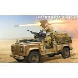 Джип Land Rover WMIK w/ MILAN ATGM 1:35