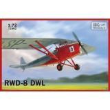Учебно-тренировочный самолет RWD-8 DWL 1:72