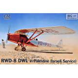 RWD-8 DWL в Палестине (Израильская служба) 1:72