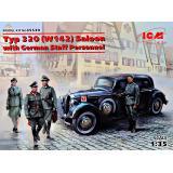 Тип 320 (W142) Седан с немецким штабным персоналом