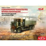Британский грузовик Leyland Retriever General Service (раннего производства)