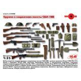 Оружие и снаряжение пехоты США І МВ 1:35