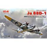 Немецкий самолет-разведчик Второй мировой войны Ju 88D-1 1:48