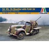 БТР Sd.Kfz. 3b Maultier с орудием Flak 38 1:35