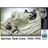 Немецкий танковый экипаж, 1944-1945 год 1:35