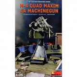 М4 — счетверённая зенитная пулемётная установка 1:35