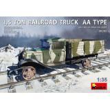 1,5-тонный железнодорожный грузовик типа AA 1:35