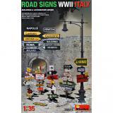 Дорожные знаки времен Второй мировой войны (Италия)