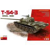 Средний танк T-54-3, 1951 г. 1:35
