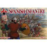Испанская пехота 16 века, набор 1 1:72