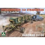 Подвесной кран 16 тонн Strabokran, 1944-1945рр. производства и тягач Hanomag ss100