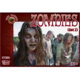 Зомби, набор 2 1:72