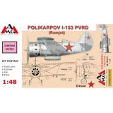 Истребитель Поликарпов И-153 ПВРД 1:48