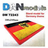 Подставка для моделей. Тема: Германия (180x240 мм) 1:72
