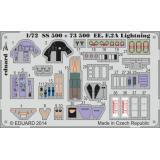 Набор фототравления 1/72 EE F.2A Lightning (Airfix) 1:72