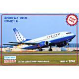 Пассажірській літак Airliner 735 United 1:144