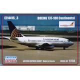 Авиалайнер Boeing 737-100 Continental 1:144