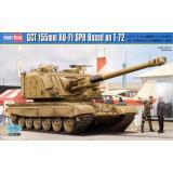 155-мм САУ AU-F1 SPH на базе советского танка T-72 1:35