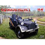 Le.gl.Einheitz-Pkw Kfz.2, Немецкий легкий автомобиль радиосвязи II МВ