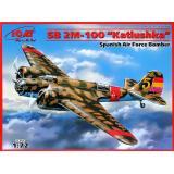 Испанский бомбардировщик СБ 2М-100 1:72