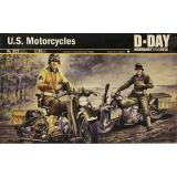 Американский мотоцикл, 2 МВ 1:35