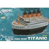 Пассажирский корабль Royal Mail Ship Titanic (Мультяшная модель)