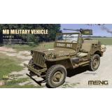 Военный автомобиль Willys Jeep с пулеметом M2 Browning