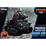 Французский средний танк Somua S-35 (World War Toons series)