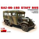 Штабной автобус ГАЗ-05-193 1:35