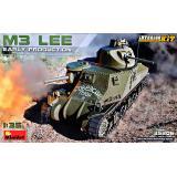 Танк M3 Lee, раннего выпуска с интерьером 1:35