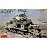 GRANT Mk.I с интерьером 1:35
