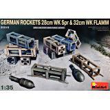 Немецкие Снаряды 28см WK Spr и 32см WK FLAMM 1:35