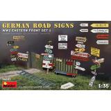 Немецкие дорожные знаки времен Второй мировой войны (Восточный фронт комплект 1) 1:35