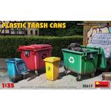 Пластмассовые мусорные баки