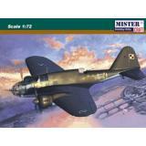 Бомбардировщик PZL P-37 A Los I 1:72